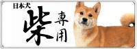 日本犬 柴専用